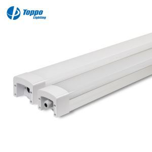 IP65 Outdoor Linkable LED Water Proof Light Fixture Led Tri-proof Batten Light With TUV-GS UL CE SAA DLC Approval